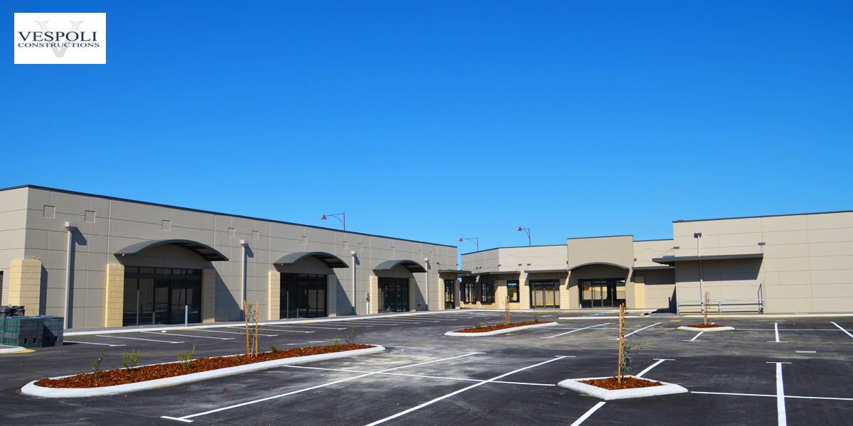 Pearsall Shopping Centre Commercial Building