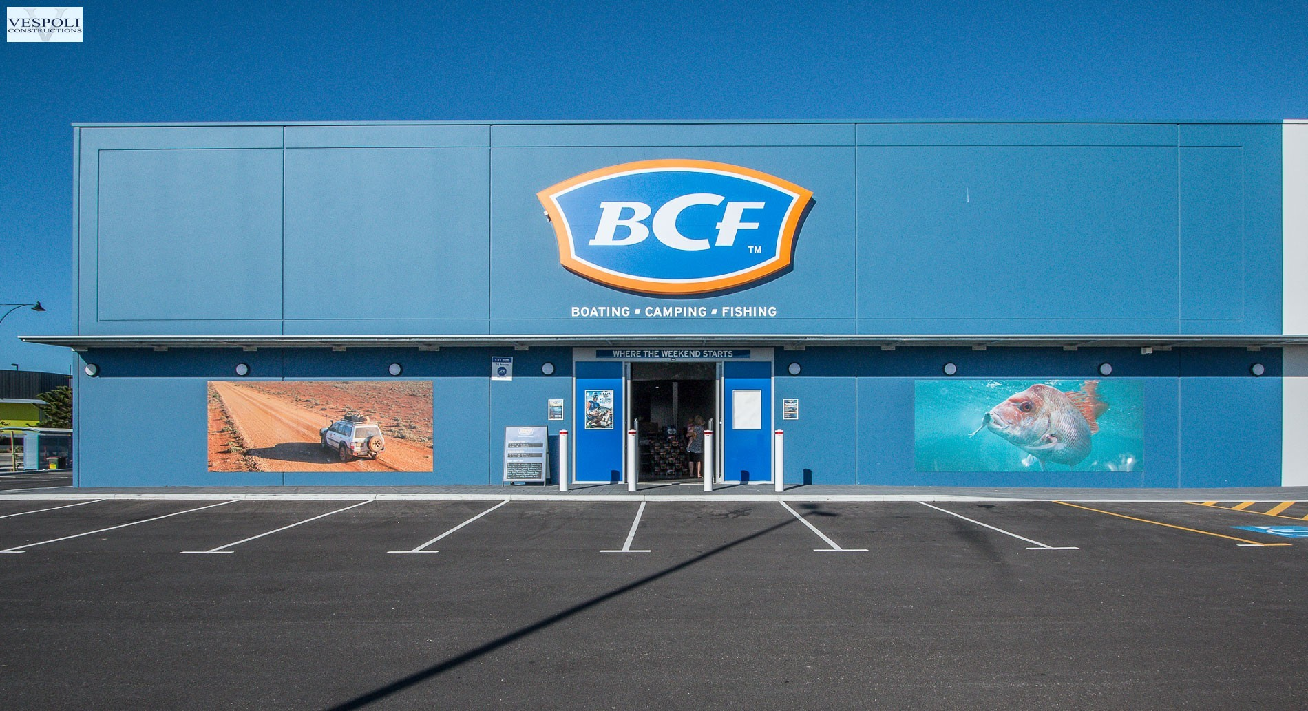 Commercial Construction of BCF Butler